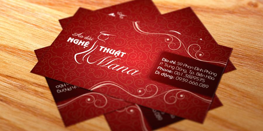 Áo Dài Mana Business Card