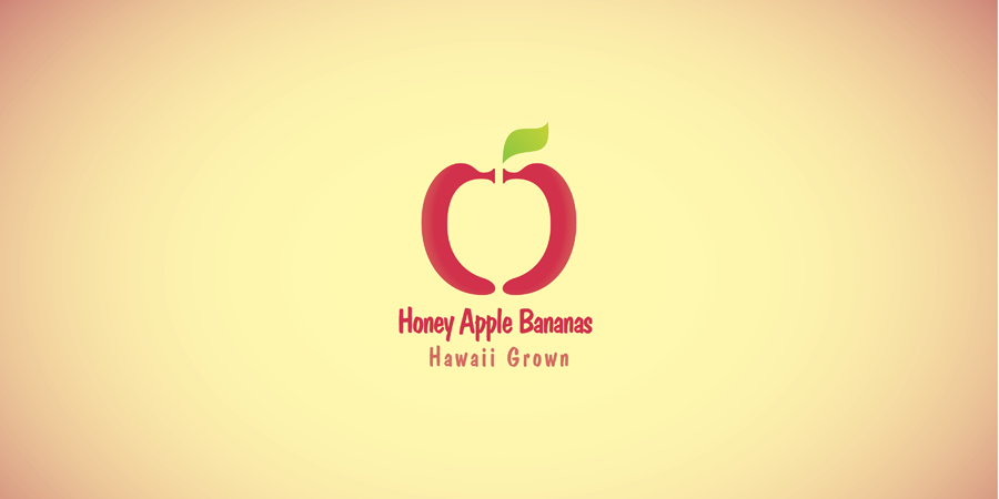 Honey Apple Bananas Logo - Second Concept