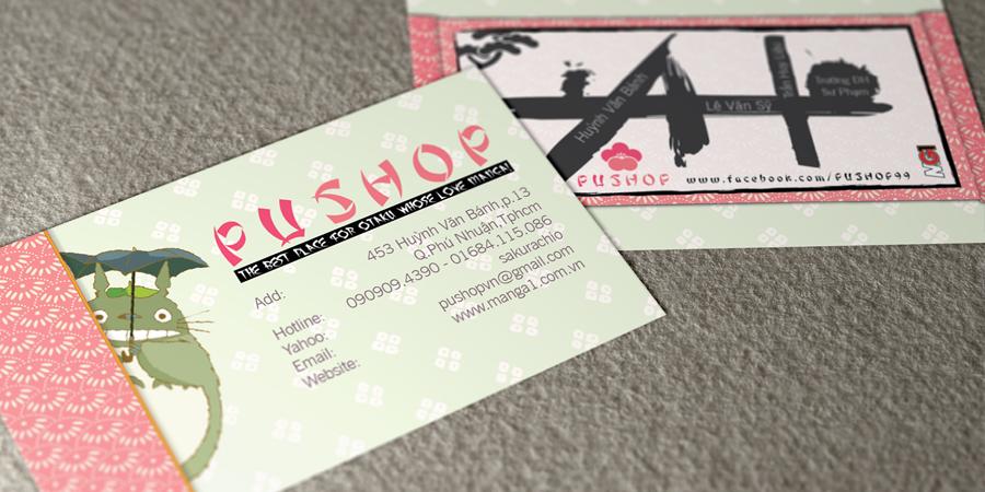 Pu Shop Business Card