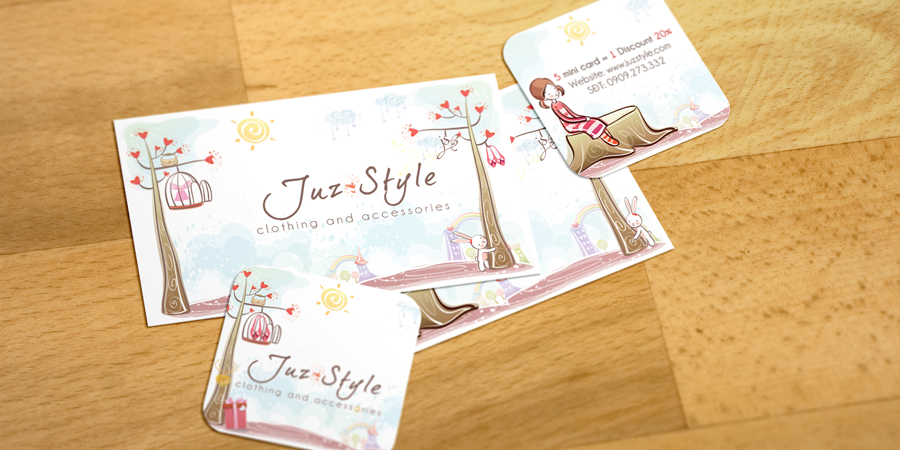 Juz Style Business Card & Price Tag