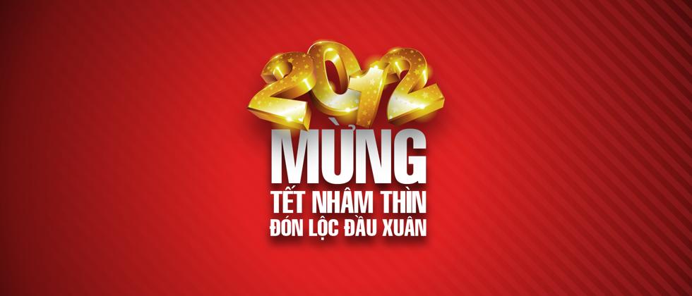Banner Tết Nhâm Thìn 2012
