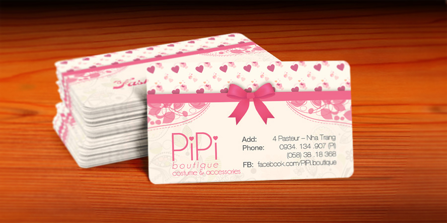 Pipi Boutique name card