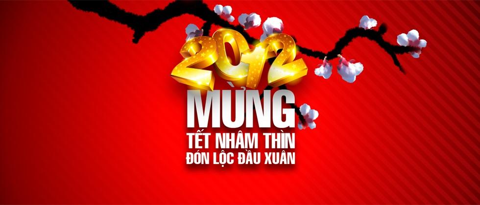 Banner chúc mừng năm mới tết nhâm thìn 2012