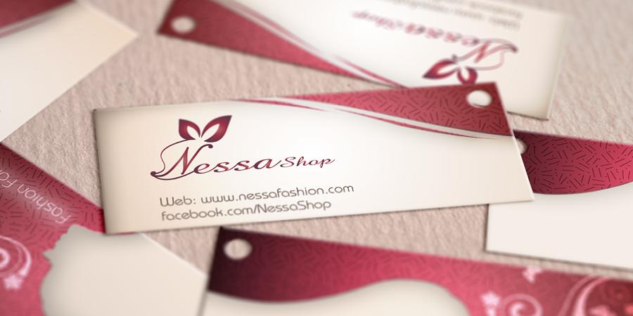 Nessa Shop Price Tag