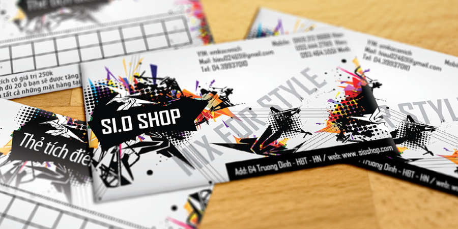 SiO Shop Business Card