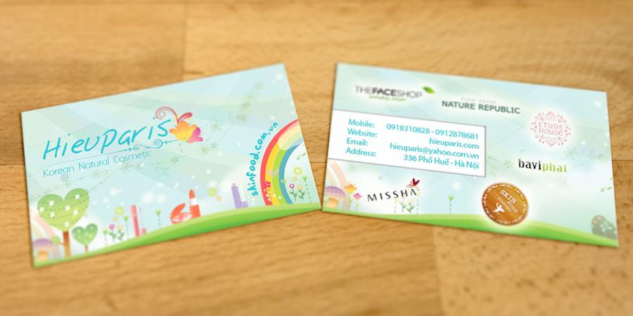 Hieu Paris Business Card