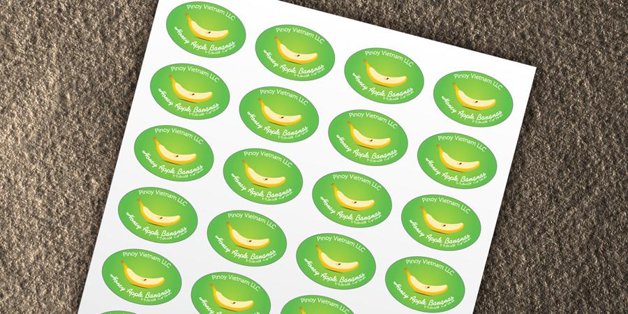 Honey Apple Bananas Sticker