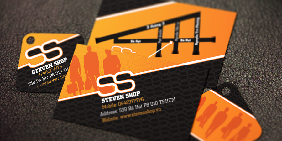 Steven Shop Business Card & Price Tag