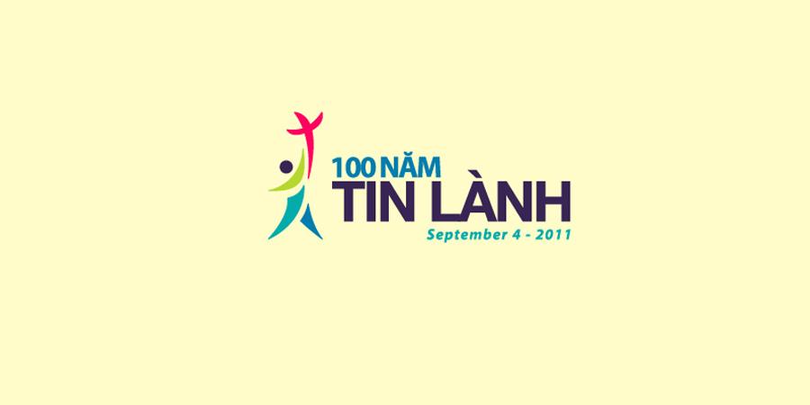 100 năm tin lành logo