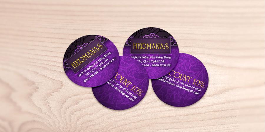 Hermanas discount card, voucher