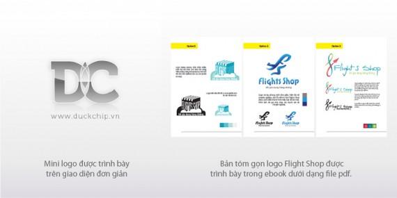 Trình bày gói thiết kế logo chuyên nghiệp và Mini logo